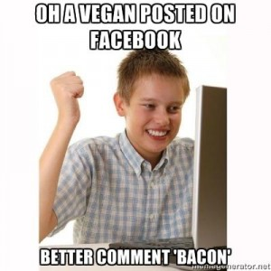 Vegan meme facebook