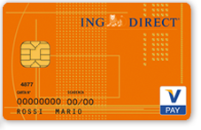 Bancomat Conto Corrente Arancio