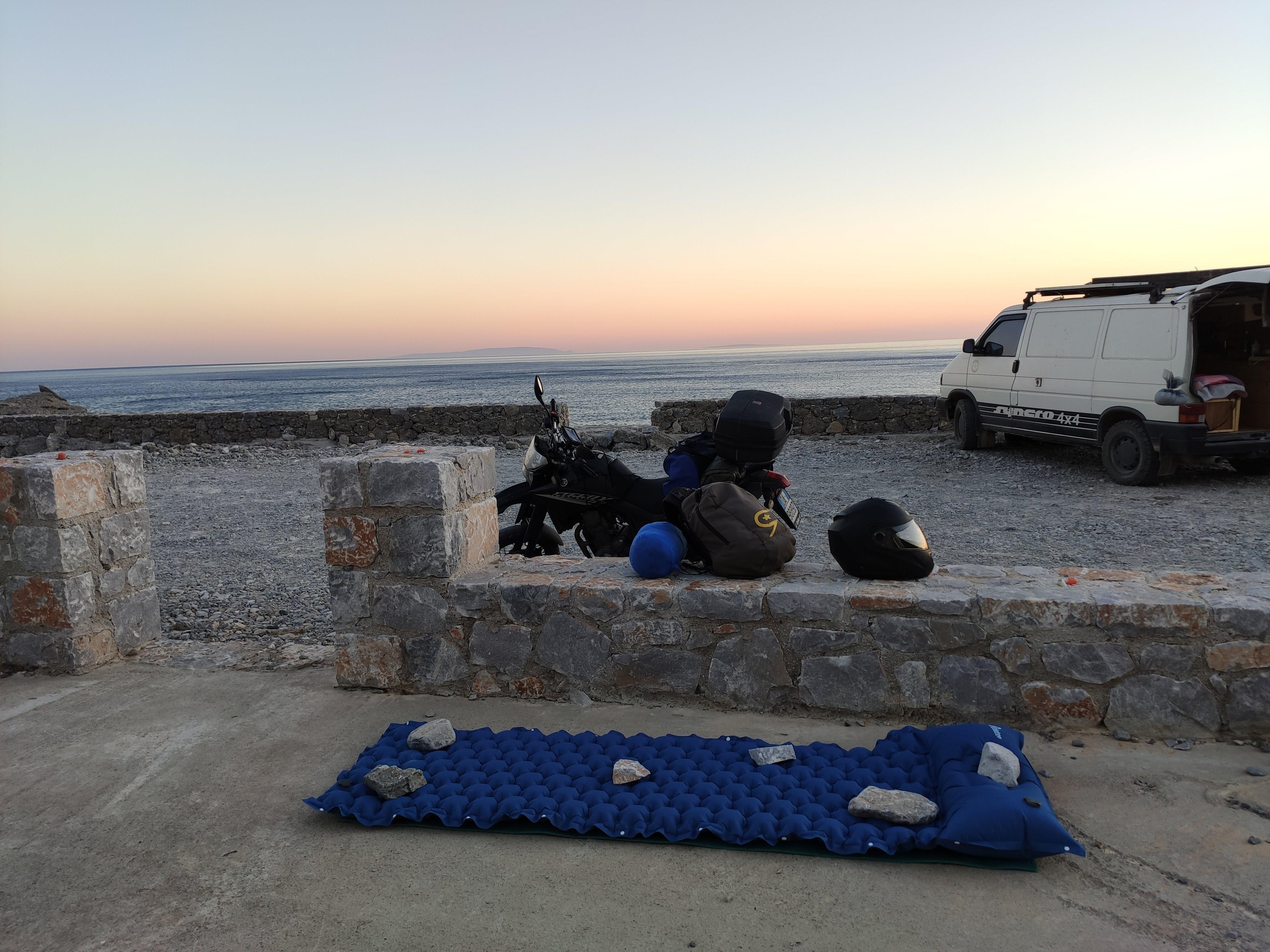 Campeggio libero Creta