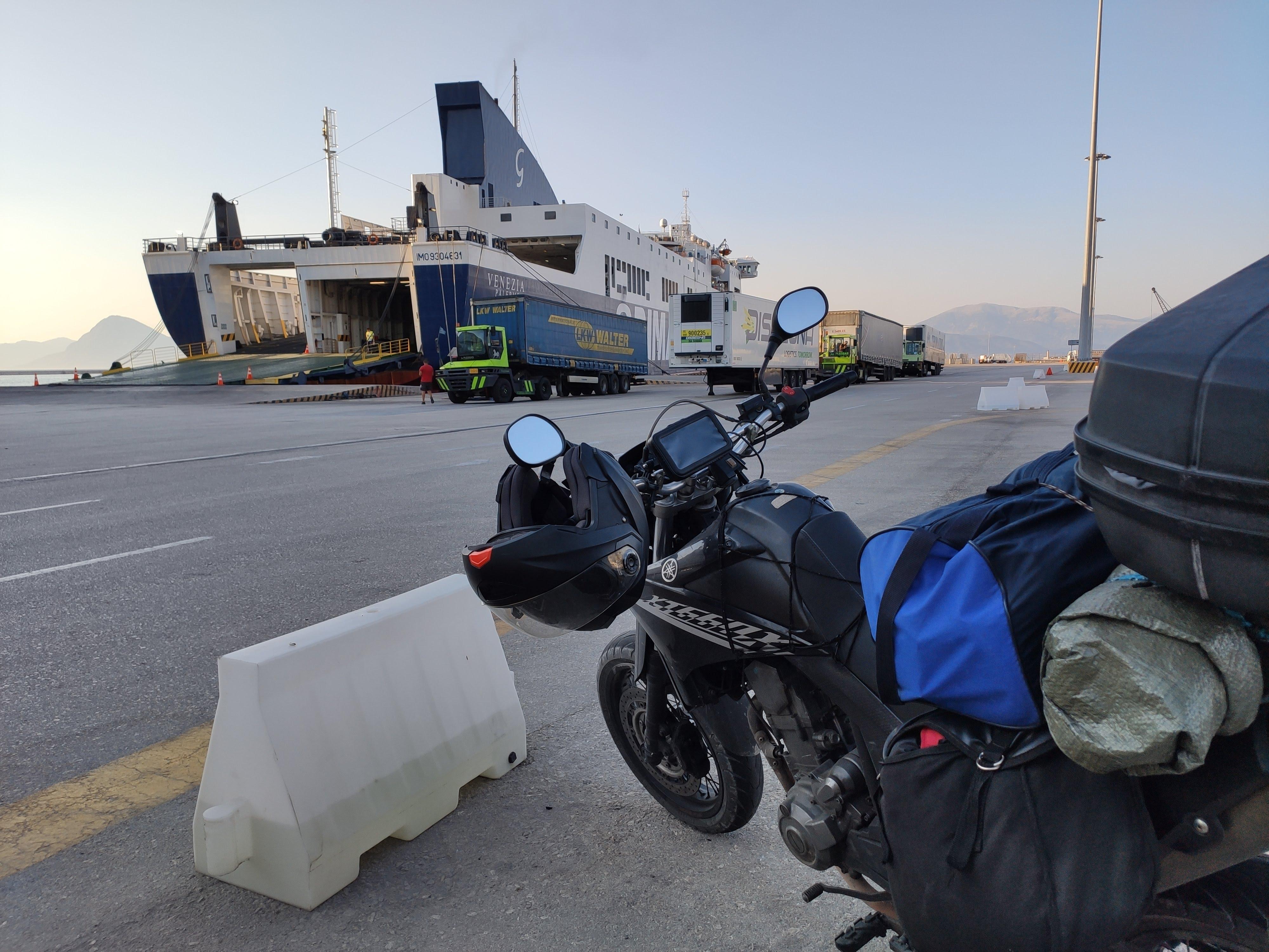 Traghetto Italia-Grecia